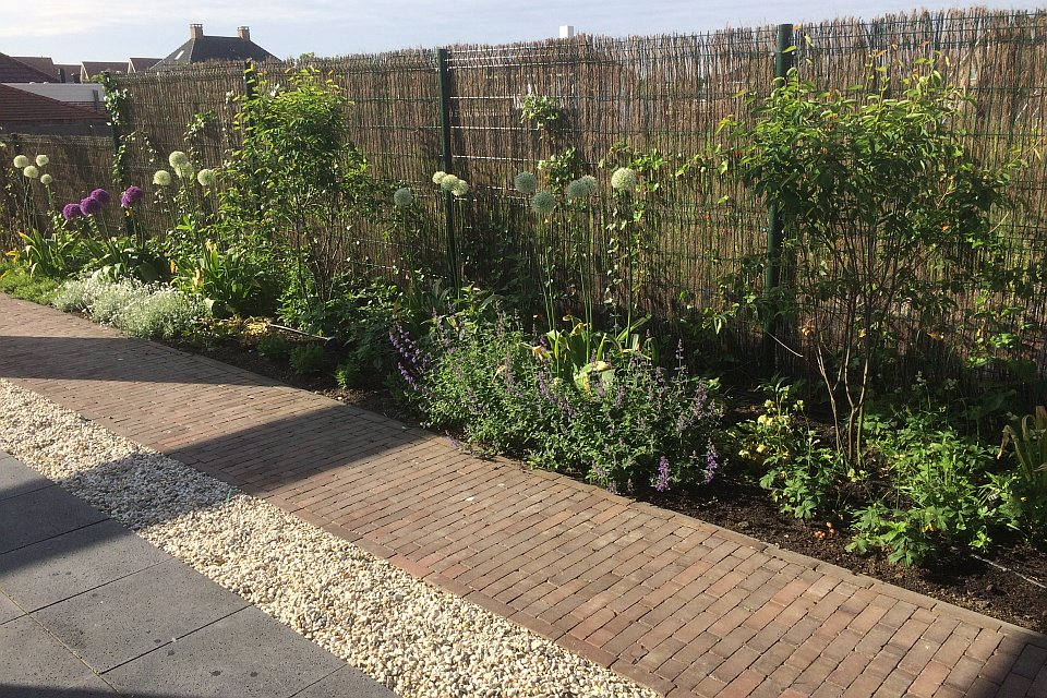 Klassiek moderne tuin aanleggen in zoetermeer for Tuin aanleggen