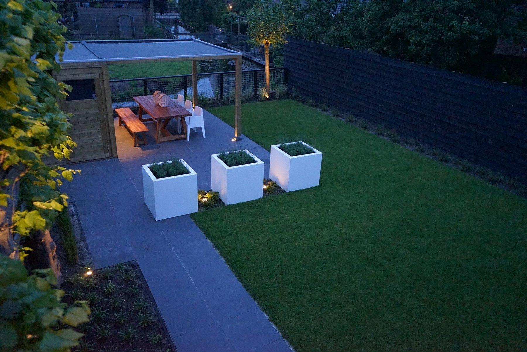 Strakke tuin aanleggen in benthuizen