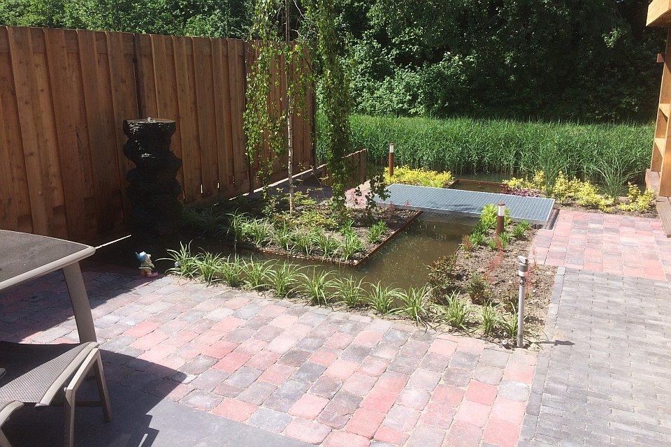 Tuin aanleggen bij nieuwbouwhuis in zoetermeer for Tuin aanleggen